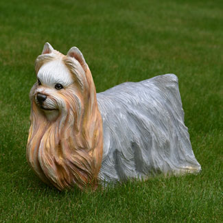Yorkshire Terrier Statue