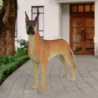 Great Dane Dog Statue