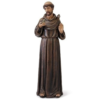 Large Saint Francis