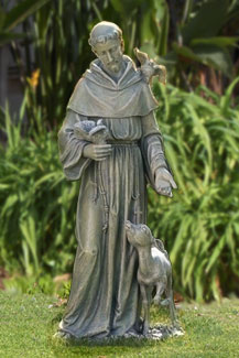 "Saint Francis with Fawn by Joseph's Studio 36""H"