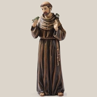 "St. Francis with Bird in Hand by Joseph's Studio 6.25""H"