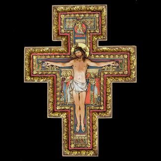 "San Damiano Crucifix 16"" Renaissance Collection"