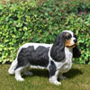 "View: Life Size Cavalier King Charles Spaniel Statue 17""H"