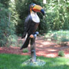 "View: Life Size Toucan Statue 45""H"