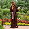 "Life Size Saint Francis with Doves 66""H"