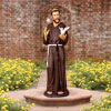 "View: Life Size Saint Francis with Doves 66""H"