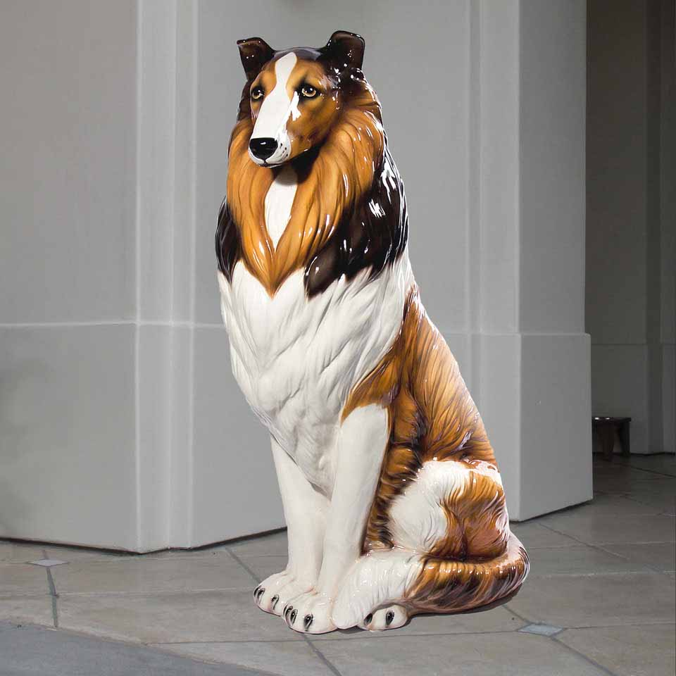 Collie Statues