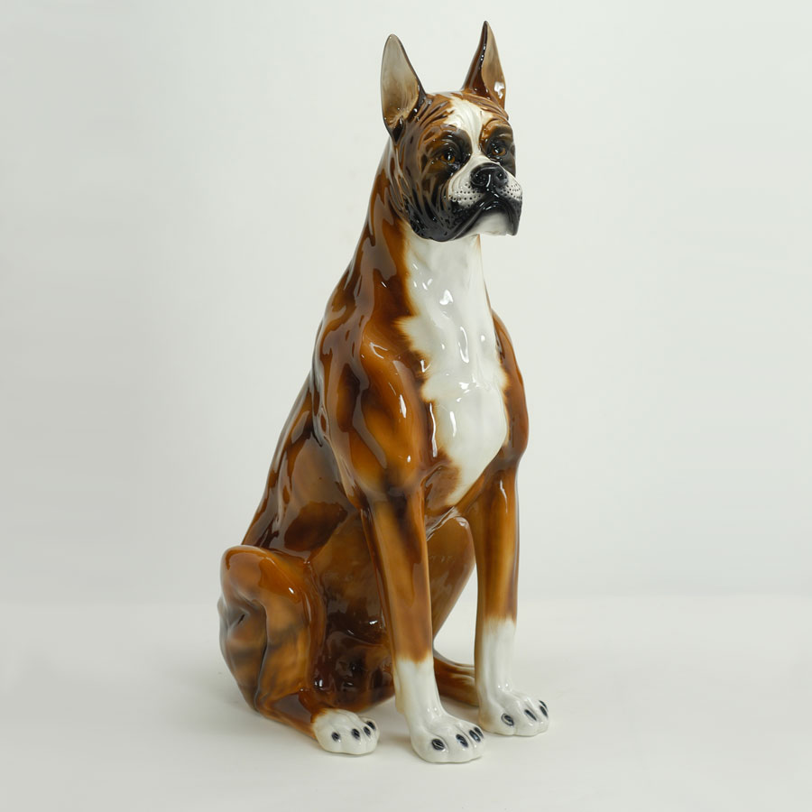 Boxer statue from Italy