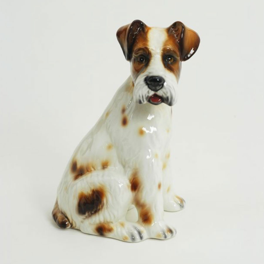 Ceramic Fox Terrier