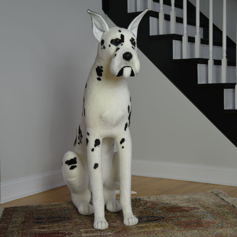 Stuffed Great Dane