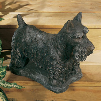 Scottish Terrier Garden Statue