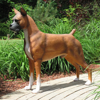Life Size Boxer Statue