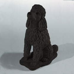 Poodle Stone Statue